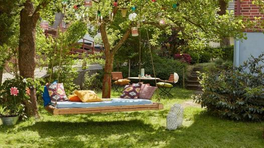 Draußen zuhause. Projekte & Ideen für Garten und rund ums Haus.