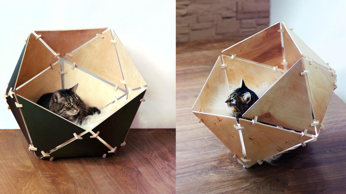 Tipi Pour Chat A Fabriquer miaou miaou : 10 paniers que votre chat va adorer | bosch diy