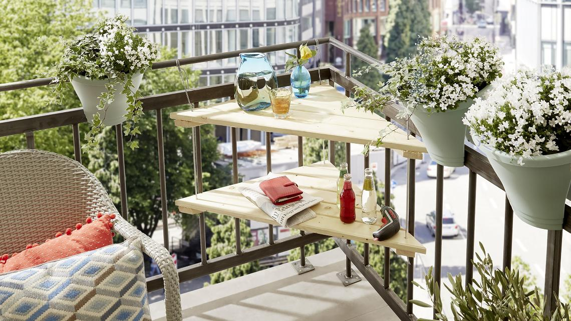 Balkontisch Selber Bauen Anleitung Für Unter Einer Stunde