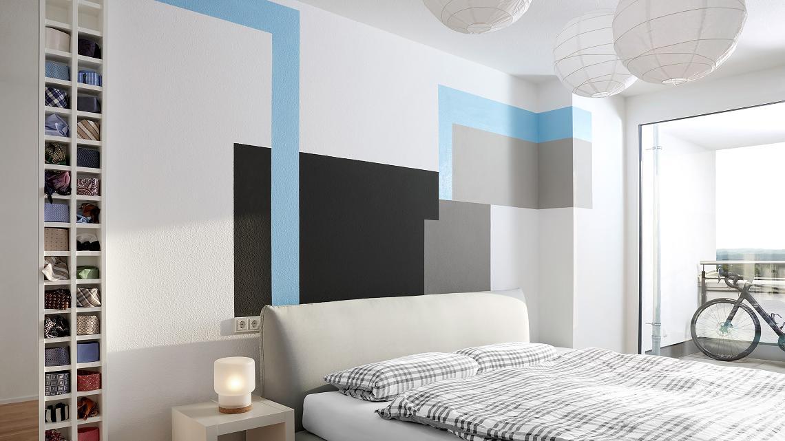 So spannend kann Grau in Grau sein: ein Schlafzimmer-Make ...