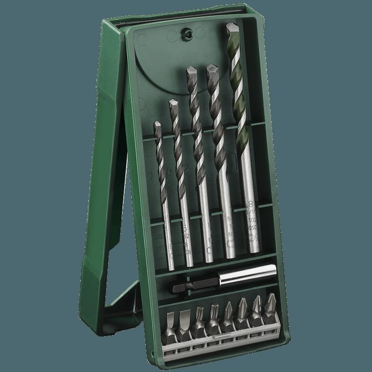 Комплект универсални свредла за зидария Mini-X-Line от 14 части