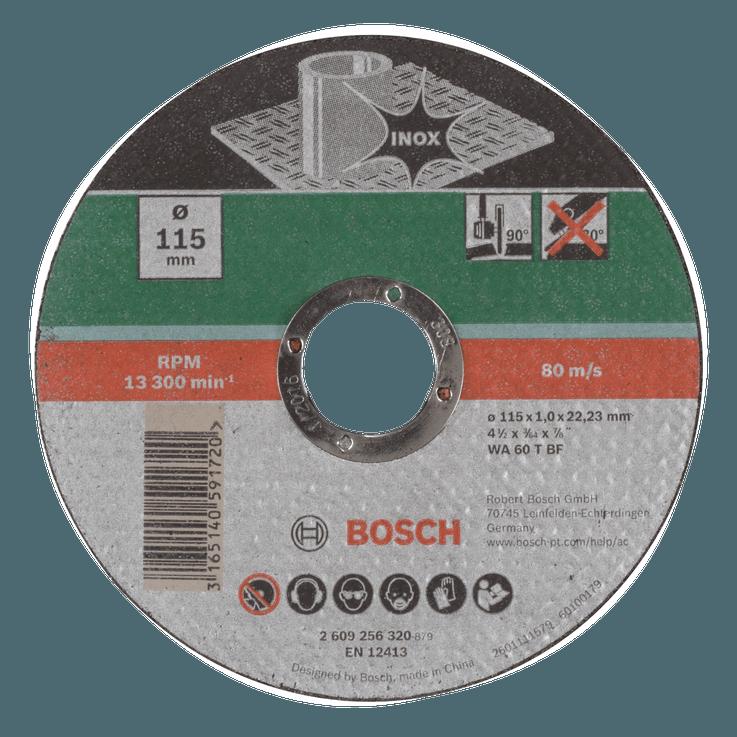 Прав отрезен диск за инокс