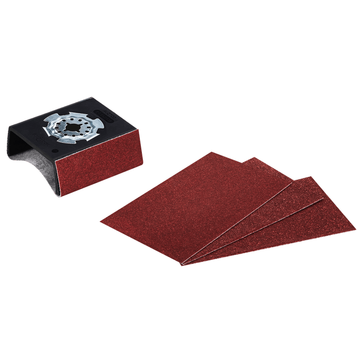 Профилна шлифовъчна подложка Starlock AUZ 70 G с 4 листа шкурка