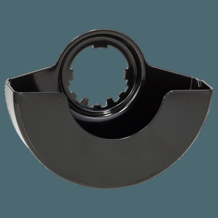 Beskyttelsesskærme med dækplade