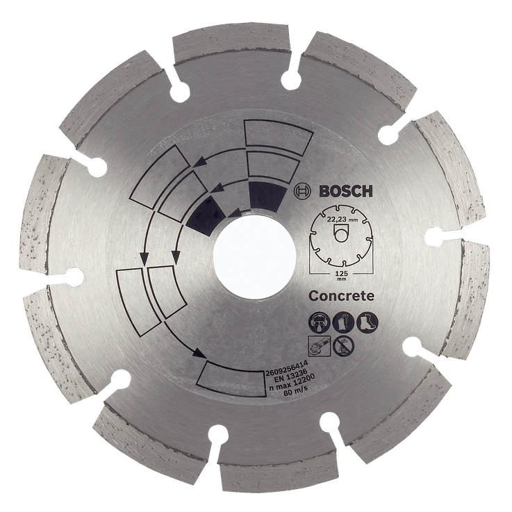 Diamantskæreskive til beton