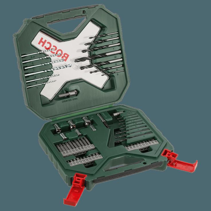 Klassisk X-Line-bor- og skruetrækker bitsæt med 60 dele