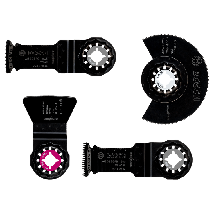 Starlocksæt til gulv- og monteringsarbejde, 4 dele