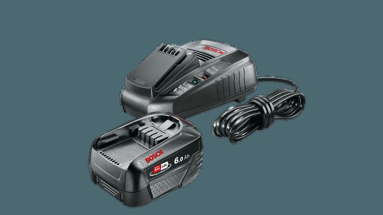 Starter-Set 18 V (6.0Ah + AL 1830 CV)
