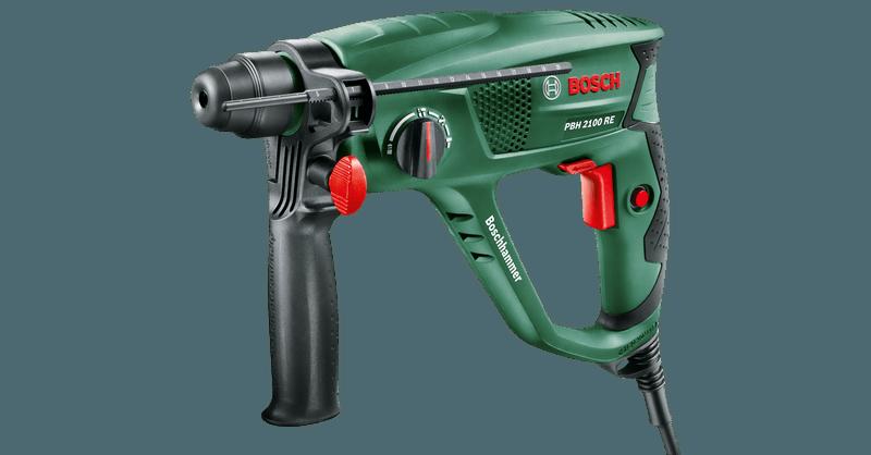 Bosch Bohrhammer PBH Universal 2 Meißel und 2 Bohrer inkl