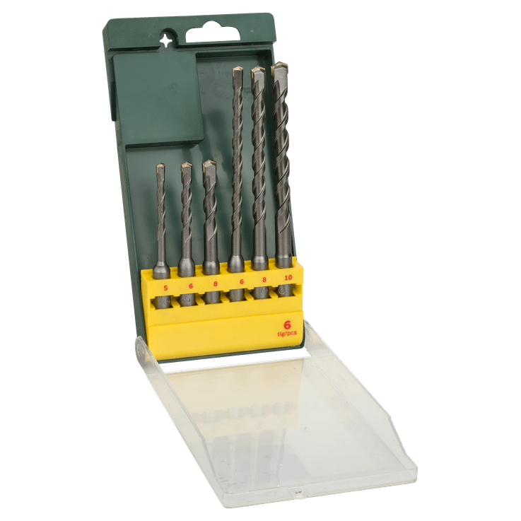 SDS plus Hammerbohrer-Set, 6-teilig