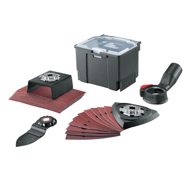 24-teiliges Starlock-Set für Schleifarbeiten