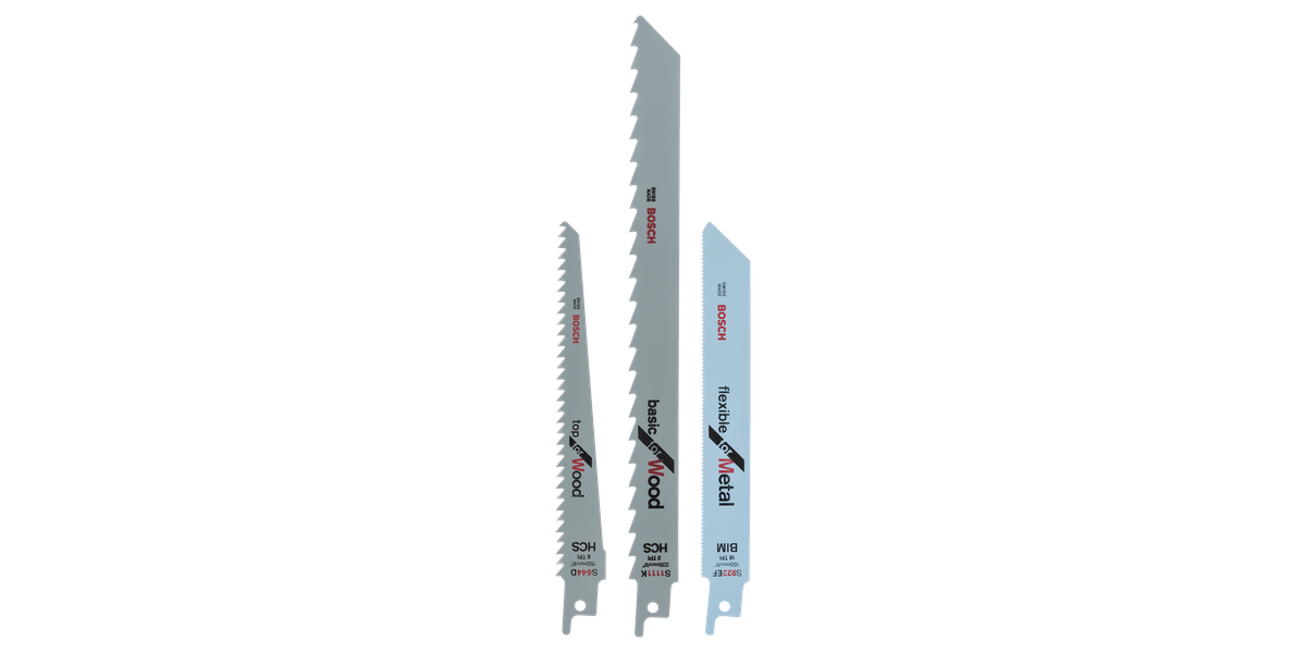 Bosch Säbelsägeblatt-Set S 922 EF S 1111 K S 644 D