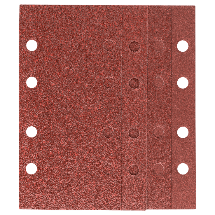 Schleifblatt-Set 93 x 230mm 25-teilig gemischt