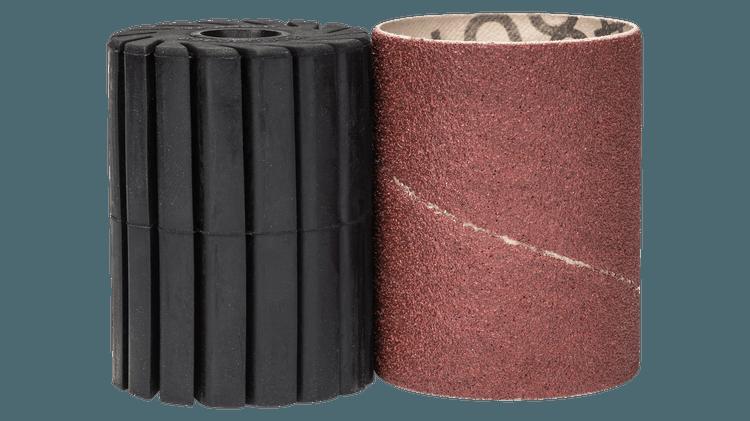 Σετ στελέχους υποδοχής και κυλινδρικού φύλλου λείανσης 80