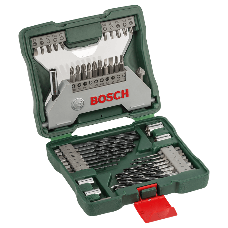 Classic X-Line Drill and Screwdriver Bit Set 43 Pieces for HEX Shank