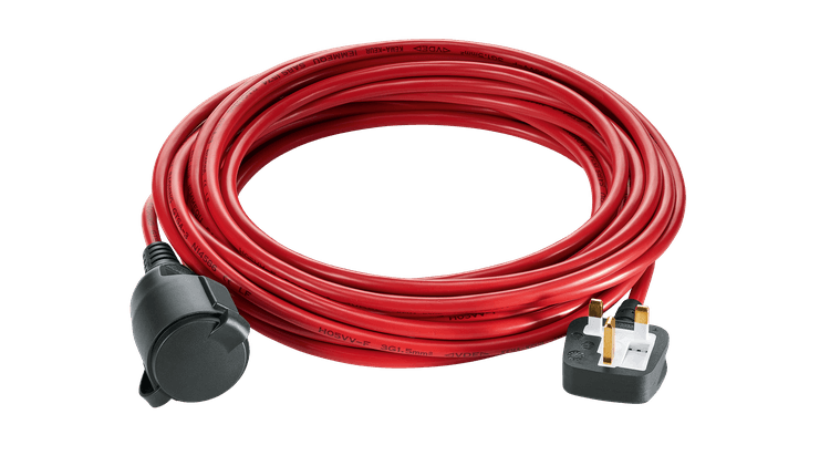 Extension cable corded lawnmower (10 meters)