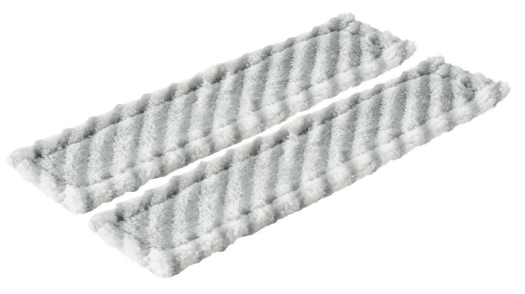 GlassVAC - Long replacement microfibre cloths