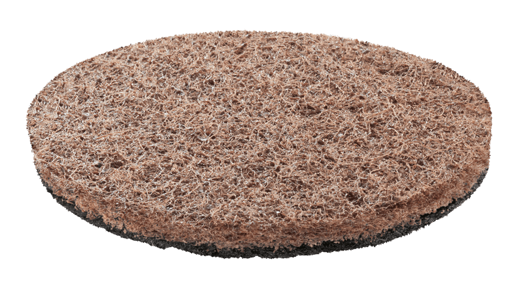Abrasive heavy duty pad