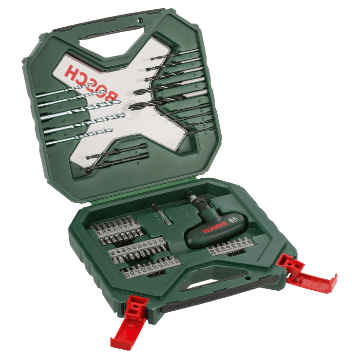 Classic X-Line Drill and Screwdriver Bit Set 54 Pieces