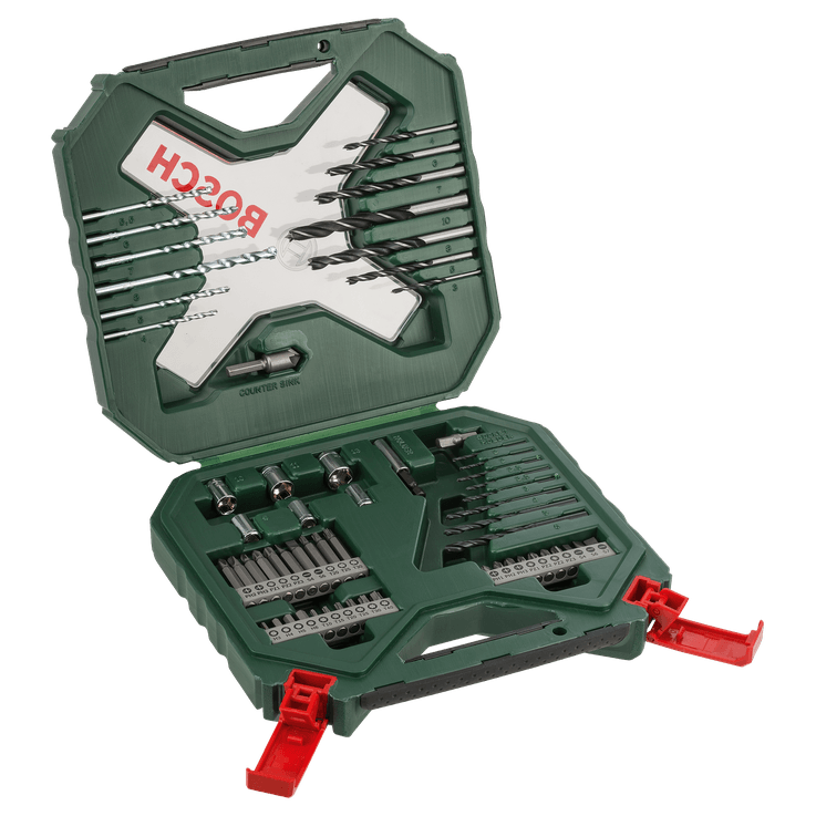 Classic X-Line Drill and Screwdriver Bit Set 60 Pieces