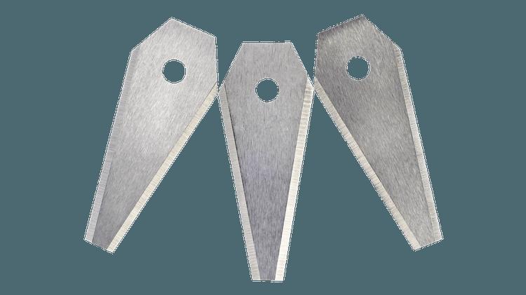 Cutting blades x3
