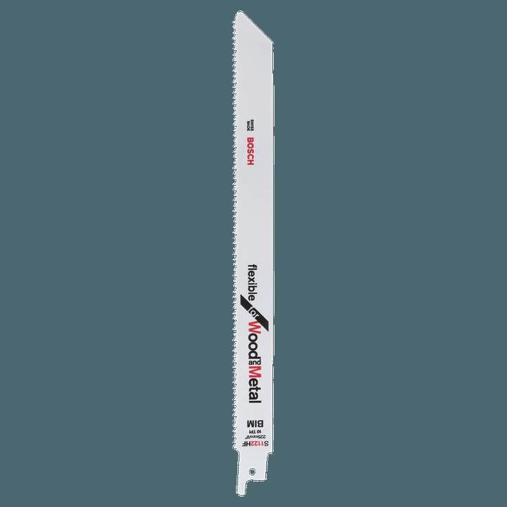 Reciprocating saw blade, bi-metal, S 1122 HF