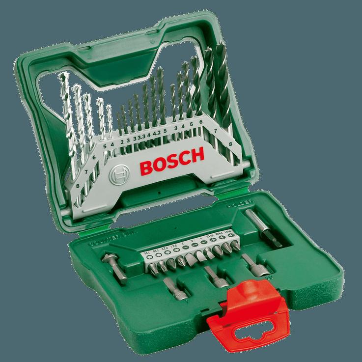 X-Line Drill- and Screwdriver Bit Set 33 pieces