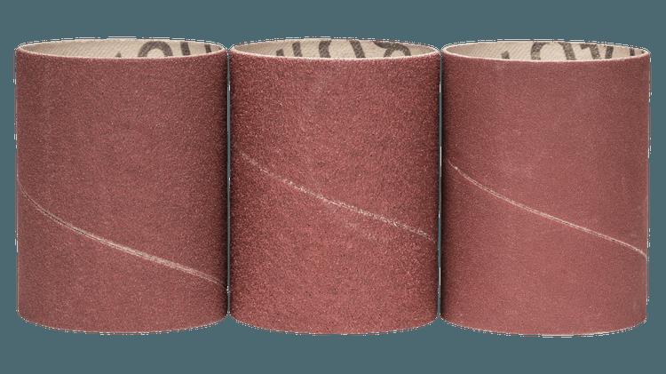 Sanding sleeve set 80/120/240