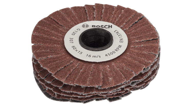 Sanding wheel (flexible)120