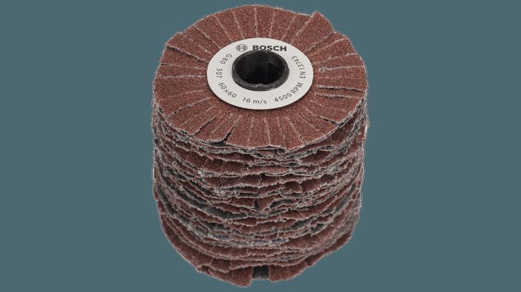 Sanding wheel (flexible) 80