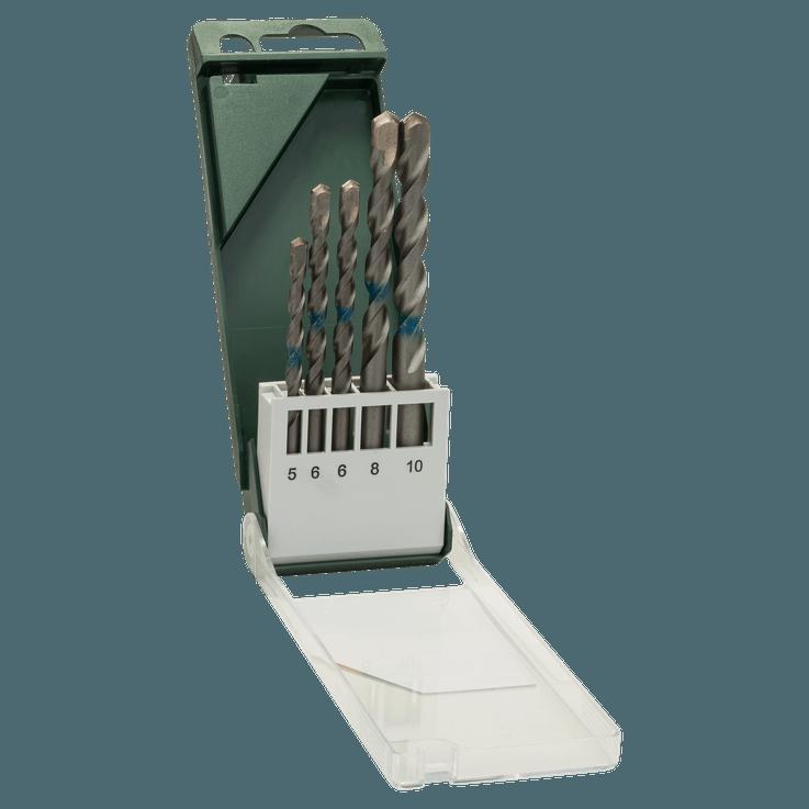 Broca para hormigón fabricada según ISO 5468, 5 piezas