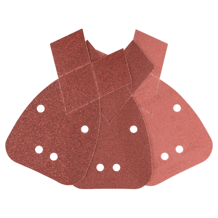 Set de 6 hojas de lija para multilijadoras