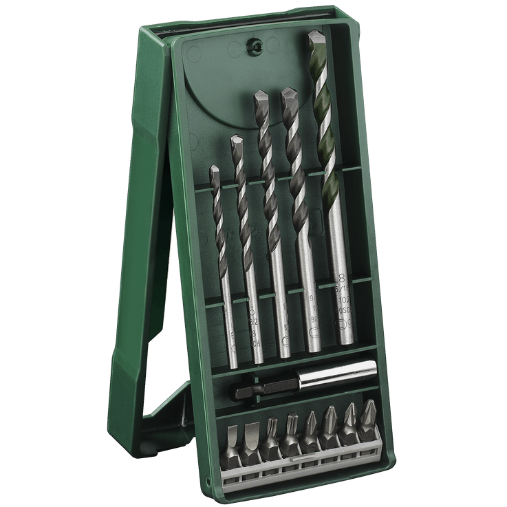 Set Mini-X-Line con 14 brocas universales