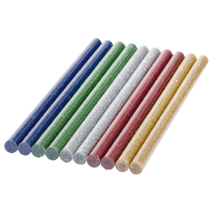 Kuumaliimapuikot Glitter, 7mm