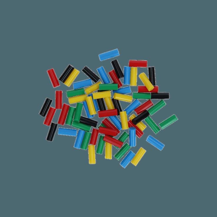 Bâtons de colle, mélange de couleurs