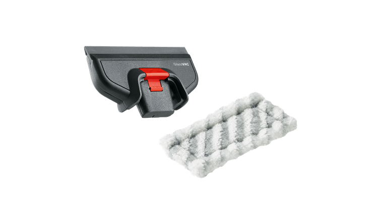 GlassVAC - Set de nettoyage avec petite tête d'aspiration