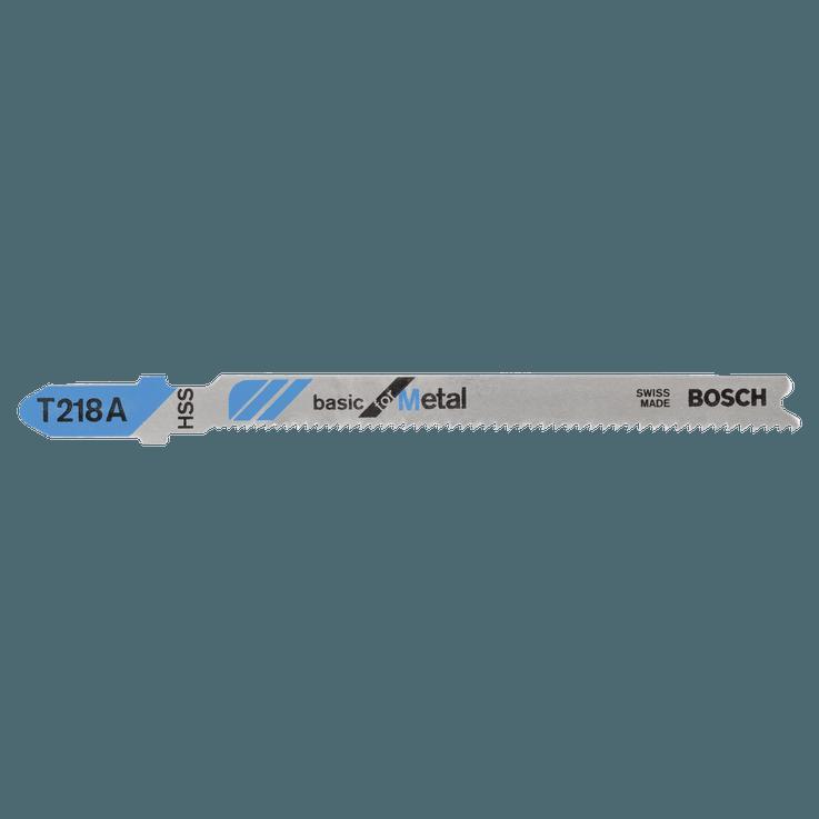 Lame de scie sauteuse HSS, T218A