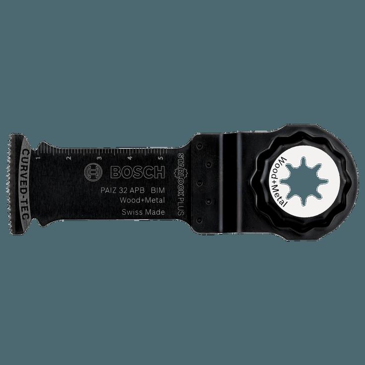 Lame pour coupe plongeante StarlockPlus Bimétal PAIZ32APB