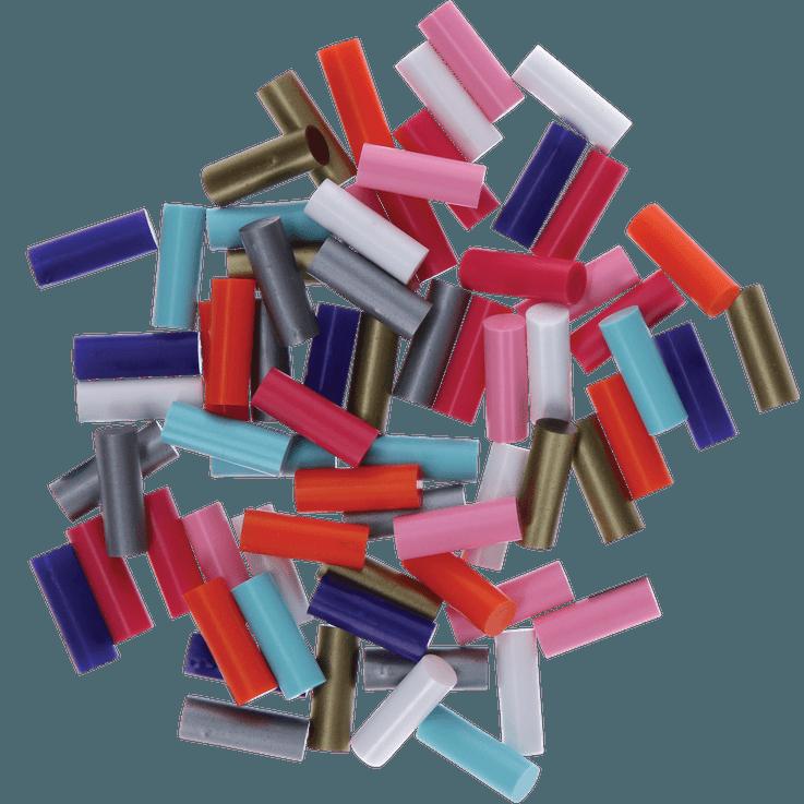 8bâtons de colle pour Gluey, mélange de couleurs vives «POP»