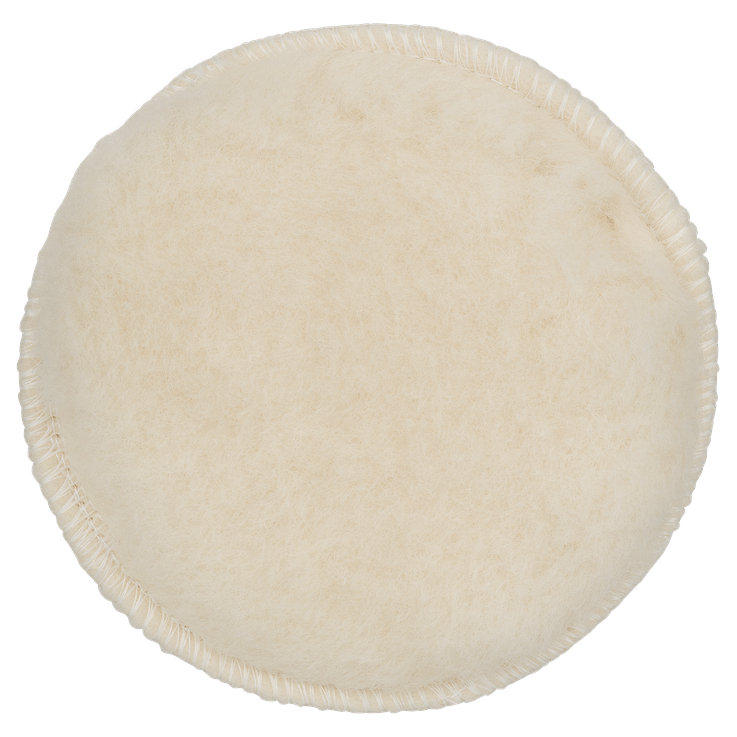 Bonnet de polissage en laine pour ponceuses excentriques