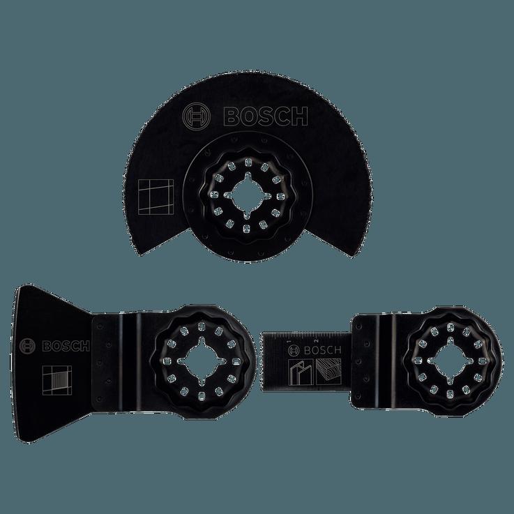 Kit de démarrage Starlock «Carrelage» pour outils multifonctions, 3pièces