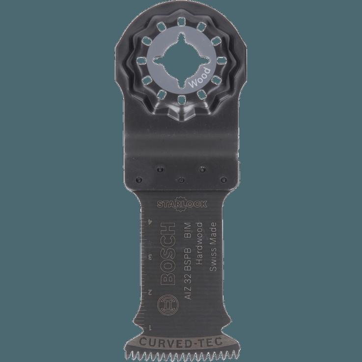 Lame pour coupe plongeante Starlock Bimétal AIZ32BSPB