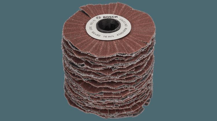 Cylindre abrasif (souple) G120