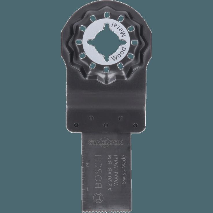 Lame pour coupe plongeante Starlock Bimétal AIZ20AB