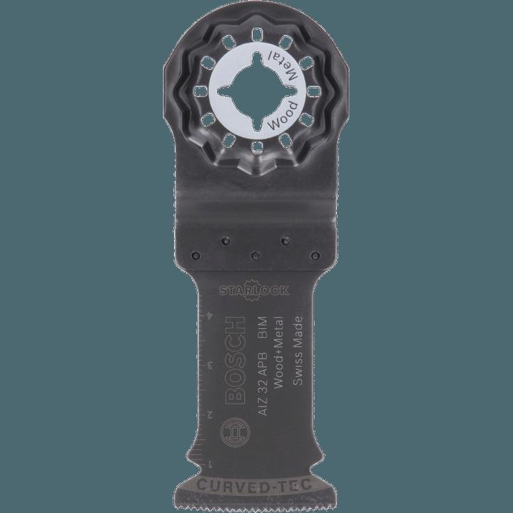 Lame pour coupe plongeante Starlock Bimétal AIZ32APB