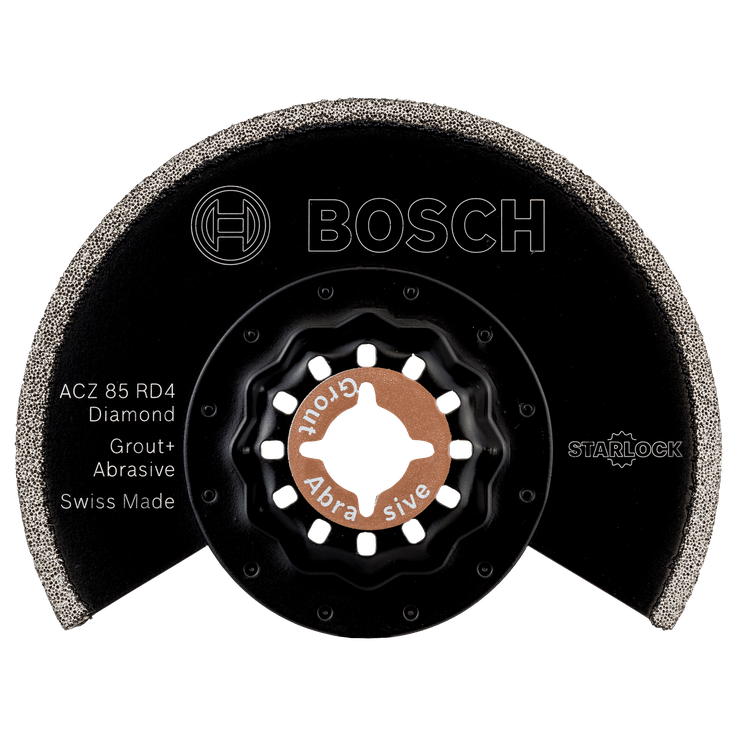 Lame segment Starlock ACZ 85 RD4 à concrétion diamant