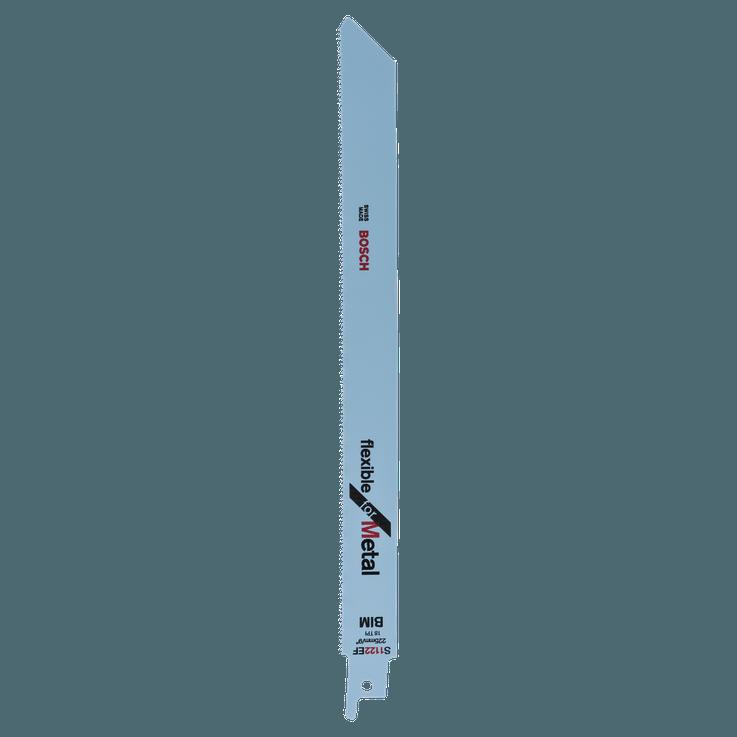 Szablyafűrészlap, bimetál, S 1122 EF