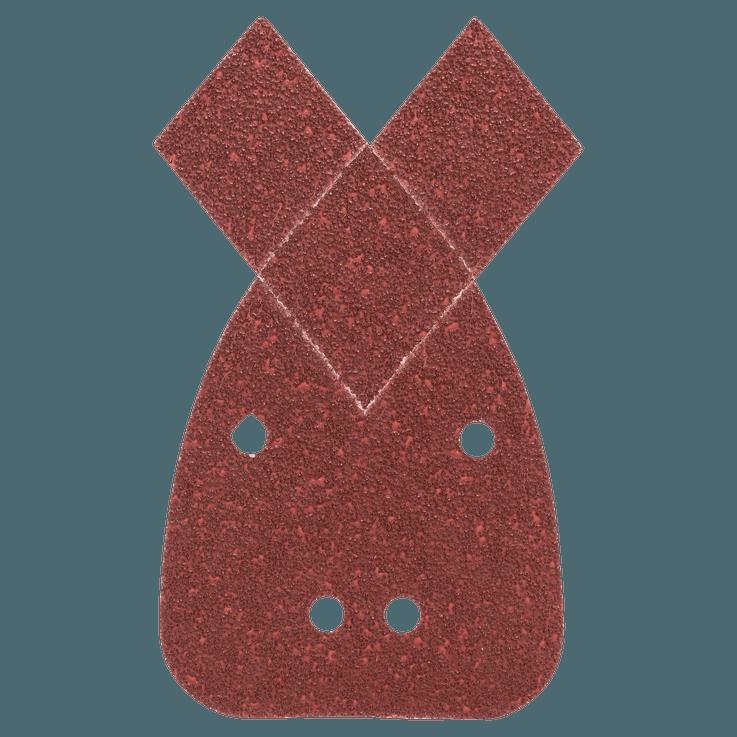 Set di fogli abrasivi da 5 pezzi per levigatrici palmari