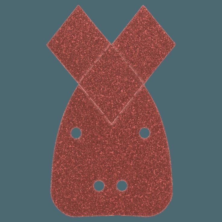 Set di fogli abrasivi per levigatrici palmari da 25 pezzi, grana 80, 120, 180