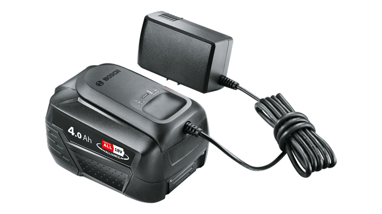 Starter Set 18V (batteria da 4,0 Ah + caricabatteria AL 18V-20)